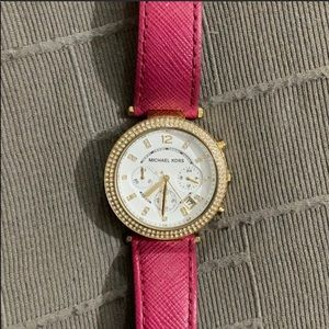 Michael Kors Pink/Red Watch
